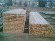 Продаем обрезные пиломатериалы для строительства конструкций из дерва