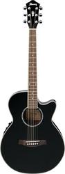 электроакустическая гитара IBANEZ AEG10E BK