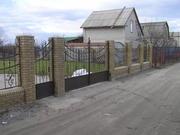 Ворота филенчатые металлические с автоматикой,  Днепропетровск