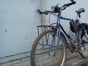 Передний велобагажник