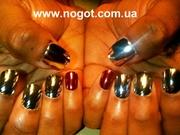 Металлические,  покрытия для ногтей Nail Star