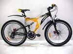 Горные двухподвесные велосипеды Azimut со склада