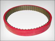 Ремень зубчатый протяжки пленки аналог 202 L 100 + Linatex 5mm для ФУА