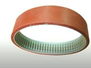 Ремень зубчатый протяжки пленки аналог 50 Т10/630 + Linatex 7mm для ФУА