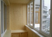 Остекление балконов лоджий обшивка