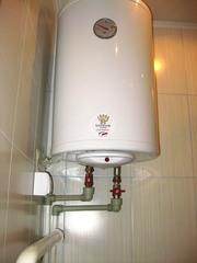 Установка,  чистка,  ремонт водонагревателей (бойлеров).