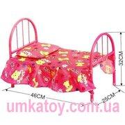 Разнообразный выбор детских игрушечных кроваток для кукол