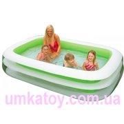 Продаем детский надувной прямоугольный бассейн 56483 Intex
