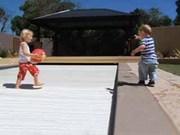 Автоматические ролеты для бассейнов