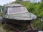 Продам лодку Крым с лафетом для транспортировки