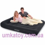 Продаем двуспальную надувную кровать Intex Pillow-Rest 66770
