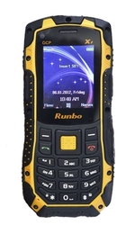 Защищённый телефон - рация RUNBO X1,  IP67