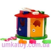 Продаем - Детская развивающая игрушка сортер - Куб