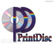 Тиражирование CD DVD дисков. Печать на дисках.