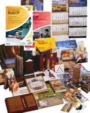 Полиграфия: визитки,  календари,  листовки,  буклеты. Дизайн.