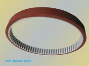 Ремень зубчатый протяжки пленок аналог 25 Т10/720 + Linatex 7mm для ФУА