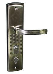 Замена ручки в китайской металлической двери г.Кривой Рог