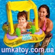 Продаем надувной круг с навесом іntex Kiddie 56581