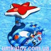Предлагаем к продаже детский круг іntex 56582 с навесом