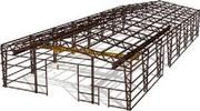 Производство металлоконструкций и строительство быстровозводимых здани