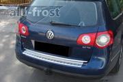Накладка на бампер с загибом для VW Passat B6 Variant