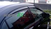 Ветровики (дефлекторы окон) для Honda Mugen Style.