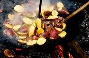 Универсальная сковорода для открытого огня