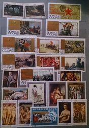 продам большой набор почтовых марок - Почтовые марки