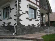 услуги по укладке тротуарной плитки,  природного камня,  гранитной брусч