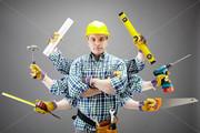 Выполним комплексный и частичный ремонт квартир,  домов,  офисов