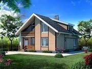 Cтроительство коттеджей,  загородных домов,  дач,  бань под ключ
