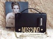 Продам Женский клатч сумка Moschino черная - опт и розница
