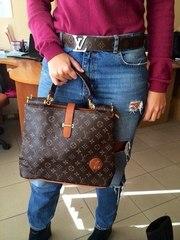 Продам Женская сумка Louis Vuitton Desire коричневая - опт и розница