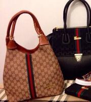 Продам Женская сумка тоут Gucci бежевая - опт и розница