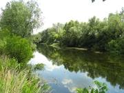 Участки: 15;  25;  40 соток на реке ОРЕЛЬ. Береговая линия.