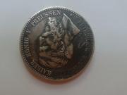 Монета немецкая 1888 г