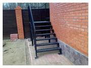 Изготовление лестниц металлических
