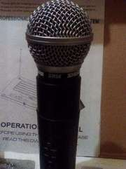 Продам микрофон Shure SM-58 с радиосистемой SH-200