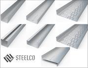 Профиль из оцинкованной стали: уголок,   П,  С , Z , U,  кронштейн фасадный