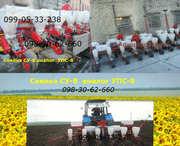 Сеялка УПС 8 с транспортным + система контроля