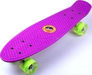 Скейт Penny Board фиолетовый