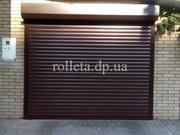 Рольставни rolleta.dp.ua роллетные ворота  тканевые роллеты