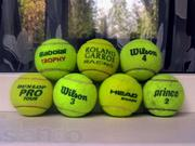 Продам теннисные мячи б/у