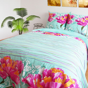 Ткань для постельного белья розница,  Ранфорс Пионы