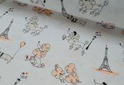 Детское сменное постельное белье,  Комплект Пудельки