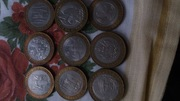 Юбилейные 10 рублей и 2 рубля России