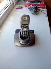 Продам стационарный телефон Panasonic KX-TG1107UA черного цвета