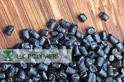 Продаем полиэтилен вторичный ПЭВД - стрейч ЛЛПВД,  цвет черный