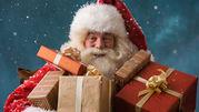Экспресс поздравление в офис,  кафе,  ресторан от Санты или Деда Мороза