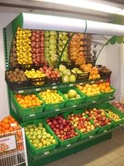 стеллажи для овощей, овощные горки